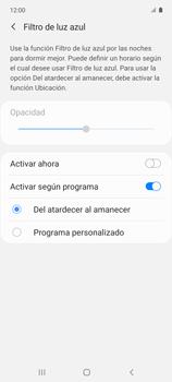 Cómo activar el modo Descanso visual para evitar la fatiga visual - Samsung Galaxy A51 - Passo 6