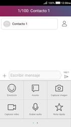 Envía fotos, videos y audio por mensaje de texto - Huawei Y3 II - Passo 7
