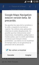 Uso de la navegación GPS - Samsung Galaxy Core Prime - G360 - Passo 20