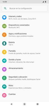 Cómo activar el modo de vibración o silencio - Motorola One Zoom - Passo 3
