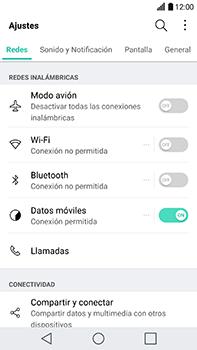 Configura el WiFi - LG V20 - Passo 3