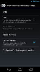 Desactiva tu conexión de datos - Motorola RAZR HD  XT925 - Passo 4