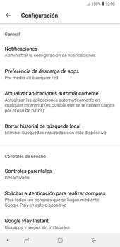 Cambiar configuración de actualizaciones de aplicaciones - Samsung A7 2018 - Passo 5