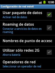 Configura el Internet - Samsung Galaxy Y  GT - S5360 - Passo 5