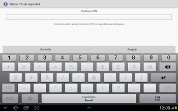 Desbloqueo del equipo por medio del patrón - Samsung Galaxy Note 10-1 - N8000 - Passo 15