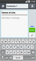 Envía fotos, videos y audio por mensaje de texto - LG L70 - Passo 11