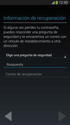 Crea una cuenta - Samsung Galaxy Zoom S4 - C105 - Passo 11
