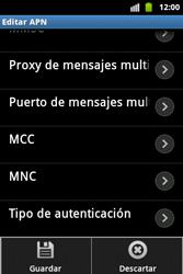 Configura el Internet - Samsung Galaxy Ace  GT - S5830 - Passo 16