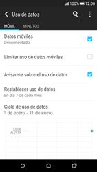 Desactivación límite de datos móviles - HTC Desire 626s - Passo 7