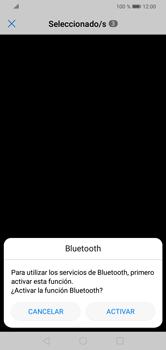 Transferir fotos vía Bluetooth - Huawei Y7 2019 - Passo 10