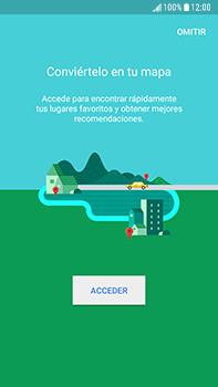 Uso de la navegación GPS - Samsung Galaxy J7 Prime - Passo 5