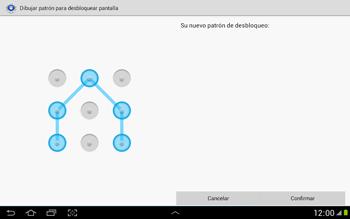 Desbloqueo del equipo por medio del patrón - Samsung Galaxy Note 10-1 - N8000 - Passo 11