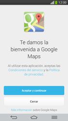 Uso de la navegación GPS - LG G Flex - Passo 4