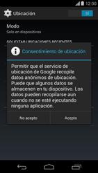 Uso de la navegación GPS - Motorola Moto G - Passo 9