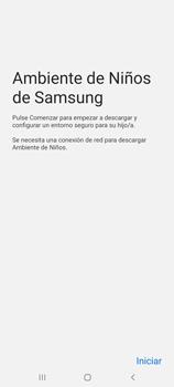 Cómo habilitar el Ambiente de Niños - Samsung Galaxy S10 Lite - Passo 5