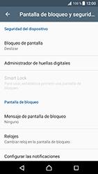 Desbloqueo del equipo por medio del patrón - Sony Xperia XZ Premium - Passo 5