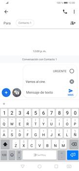 Envía fotos, videos y audio por mensaje de texto - Huawei P30 - Passo 7