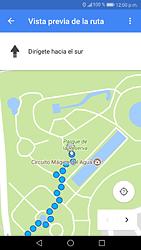 Uso de la navegación GPS - Huawei P9 Lite 2017 - Passo 17
