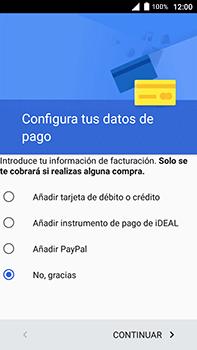 Crea una cuenta - Alcatel POP 4 Plus - 5056 - Passo 18