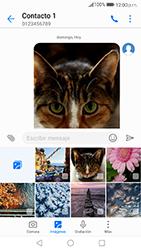 Envía fotos, videos y audio por mensaje de texto - Huawei P10 - Passo 18