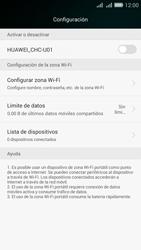 Configura el hotspot móvil - Huawei G Play Mini - Passo 9