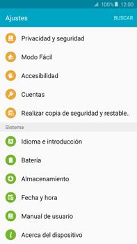 Restaura la configuración de fábrica - Samsung Galaxy Note 5 - N920 - Passo 4