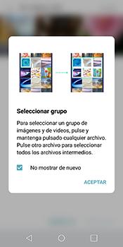 Transferir fotos vía Bluetooth - LG Q6 - Passo 6