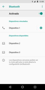 Conecta con otro dispositivo Bluetooth - Motorola Moto G6 Plus - Passo 9
