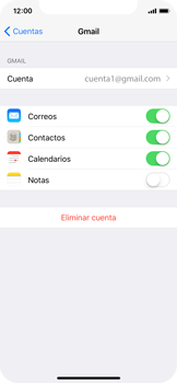 Desactivar la sincronización automática - Apple iPhone X - Passo 5