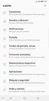 Configura el hotspot móvil - Samsung Galaxy Note 8 - Passo 4