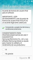 Activa el equipo - Samsung Galaxy A5 - A500M - Passo 7