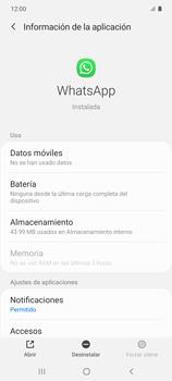 Desinstalar aplicaciones - Samsung Galaxy S10 Lite - Passo 5