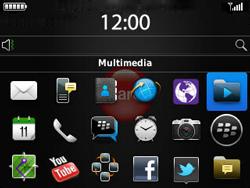 Transferir fotos vía Bluetooth - BlackBerry Curve 9320 - Passo 3