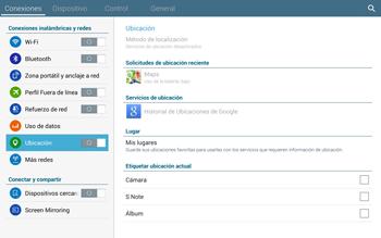 Uso de la navegación GPS - Samsung Galaxy Note Pro - Passo 19
