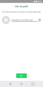 Configuración de Whatsapp - LG G6 - Passo 13