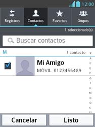 Envía fotos, videos y audio por mensaje de texto - LG Optimus L3 II - Passo 6