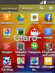 Envía fotos, videos y audio por mensaje de texto - LG L20 - Passo 2