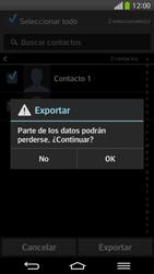 ¿Tu equipo puede copiar contactos a la SIM card? - LG G Flex - Passo 9