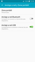 Comparte la conexión de datos con una PC - Samsung Galaxy S6 - G920 - Passo 7