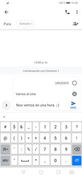 Envía fotos, videos y audio por mensaje de texto - Huawei P30 - Passo 8