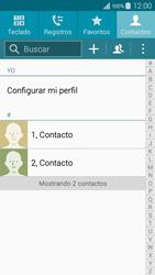 ¿Tu equipo puede copiar contactos a la SIM card? - Samsung Galaxy A3 - A300M - Passo 4
