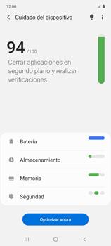 Cómo usar la función Optimizar - Samsung Galaxy A51 - Passo 5
