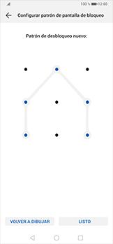 Desbloqueo del equipo por medio del patrón - Huawei P30 Pro - Passo 10