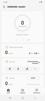 Cómo funciona el Samsung Health - Samsung Galaxy S20 - Passo 12