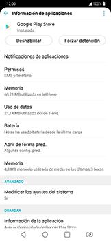 Limpieza de aplicación - LG G7 Fit - Passo 6