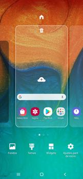 Personalizar la pantalla - Samsung Galaxy A30 - Passo 2