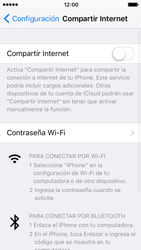 Configura el hotspot móvil - Apple iPhone 5 - Passo 4
