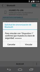 Conecta con otro dispositivo Bluetooth - Huawei Ascend P6 - Passo 7