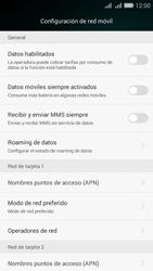 Desactiva tu conexión de datos - Huawei G Play Mini - Passo 5