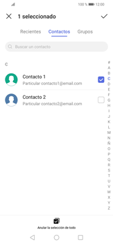 Cómo enviar un correo electrónico - Huawei P30 Lite - Passo 7